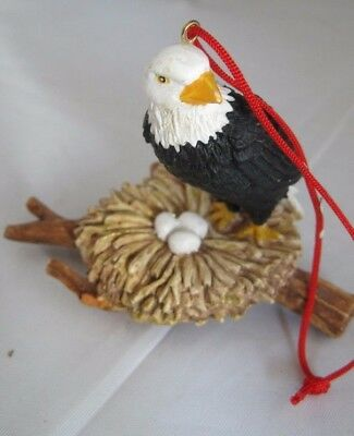 Bald Eagle with Nest Ornament