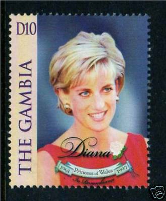 Gambia 1998 Diana Commemoration SG 2979 MNH
