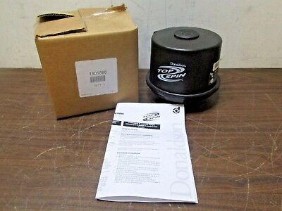 """New Donaldson Top Spin Filter 1501888 H002437 3"""" Inlet Diameter Free Shipping"""