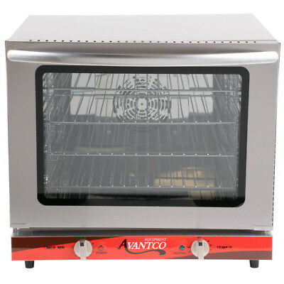 NEW! Commercial Avantco 1/2 Size Electric Countertop Convection Oven Food Shop