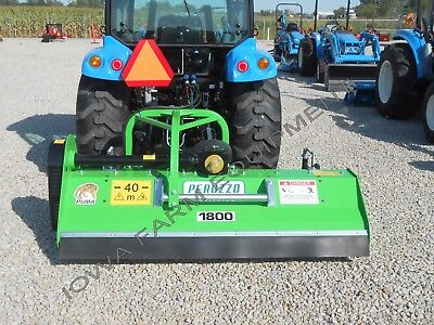 """Flail Mower,Mulcher,Peruzzo Puma 1800 72"""":Front or Rear Mount,Left&Right Offset!"""