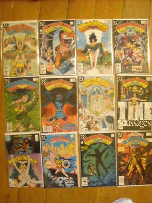 WONDER WOMAN DC Comics Lot 36 Issues 1-35 1987 George Perez Annuals 1&2, more