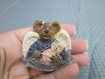 Starlight Charity Pin Boyds Bearwear Angel Hug & Every Child~