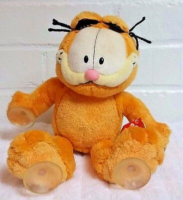 Ty Garfield Im Stuck On You Window Stuffed Animal Plush NWT                (A25)