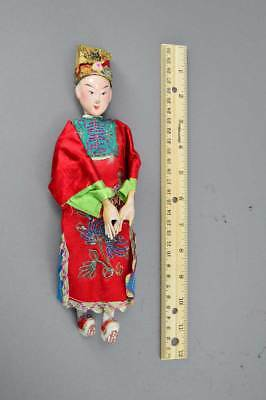 Antique Chinese Opera Doll W/ Original Outfit No Res