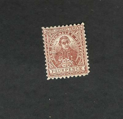1888 New South Wales SC #79 CAPTAIN COOK One Hundred Years used stamp