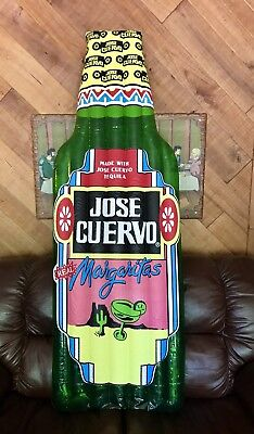 Jose Cuervo Tequila Giant Inflatable Advertising Raft Shaped Bottle Collectable