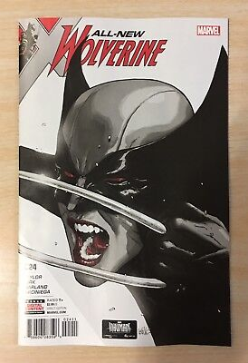 All New Wolverine #24 - Leinil Francis Yu Cover - Marvel Comics/2017