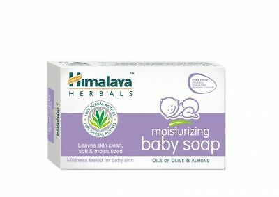 Moisturizing Baby Soap Himalaya Moisturized Skin With Olive & Almond Oil 75 g