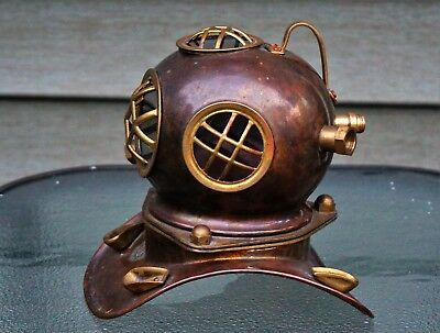 Vintage Decorative Brass Antique Replica Deep Sea Divers Diving Helmet Bioshock