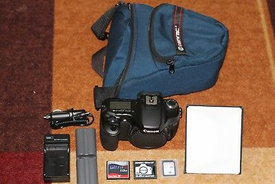 Canon EOS 40D 10.1MP Digital SLR Camera with Extras