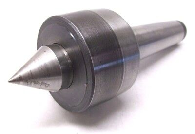 NICE! SPINDLE TYPE LATHE LIVE CENTER w/ 4 MORSE TAPER SHANK