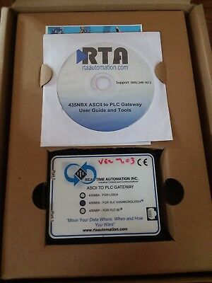 Real Time Automation 435Nbs Ascii To Plc Gateway New In Factory Packaging