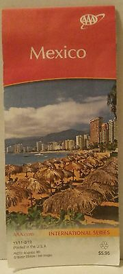 MEXICO AAA Member MAP International Series STREETS Travel ROAD MAP Foldable MEX
