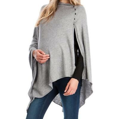 Women's Maternity Clothes Shawl Pregnant T-Shirt Tops Tee Nursing Summer