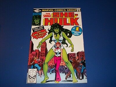 She Hulk #1 Bronze age Key Issue 1st Appearance and Origin Issue NM-/NM Gem