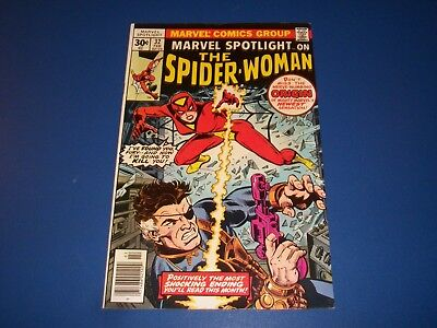 Marvel Spotlight #32 Bronze Age 1st Spider-Woman Key Nick Fury Wow Fine+