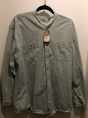 Northern Sport Wear *Vintage Hudsons Bay* Dress Shirt 100% Cotton Nwt Sz Lg