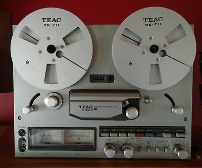 Teac x300ee reel to reel tape recorder, excellent condition, working, can post