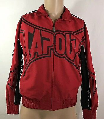 Tap Out Red And Black Men Jacket Size Medium