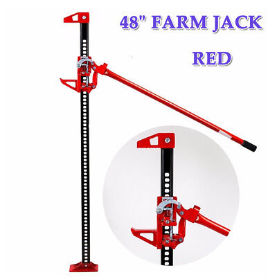 "48"" Inch Farm Jack Tractor High Lift Lifting 3 Ton Capacity Off Road ROAD SUV"
