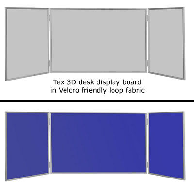 Portable 3D Panel Aluminum Folding Display Board Exhibition Stand 3yr Guarantee
