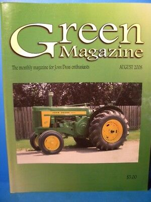 Green Magazine 2008 Aug Vol 24 No 8  John Deere 40 tractor