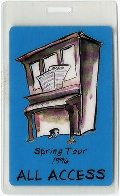 Widespread Panic authentic 1996 concert Laminated Backstage Pass Spring Tour AA