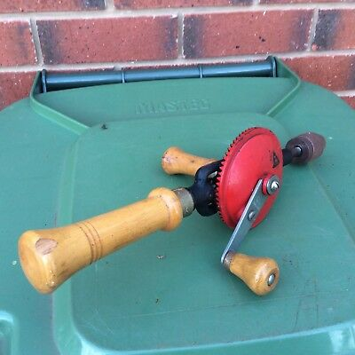 Vintage Hand Wood Drill