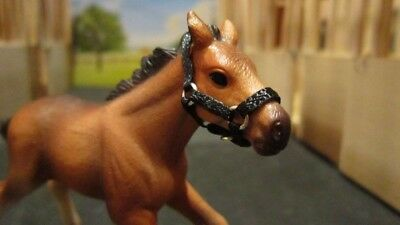 Hand-made Schleich Foal Halter (model not included)