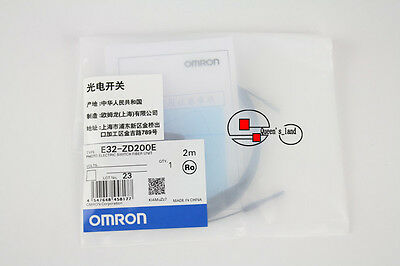 OMRON Photo Electric Switch Fiber Unit E32-ZD200E E32ZD200E New in Bag Free Ship