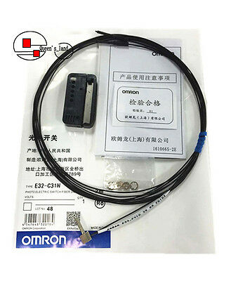 OMRON Photo Electric Switch Fiber Unit E32-C31N E32C31N New in Bag Free Shipping