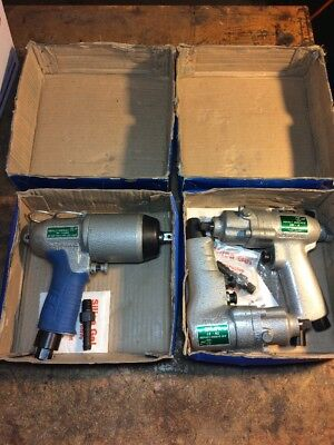 Iec Impact Wrench  Industrail Assembly Aviation Automotive Lot Of 3