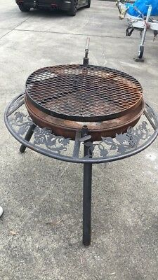 Fire Pit 95cm Wide 75 Cm High Good Condition