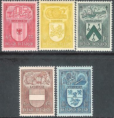 Belgium 1946 Anti-TB set of 5 mint SG1195/1196/1197/1198/1199 (5)