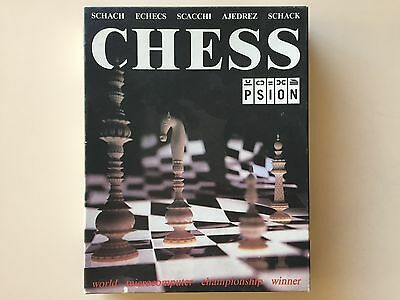 """Vintage IBM PC Psion Chess Game 5.25"""" Software"""