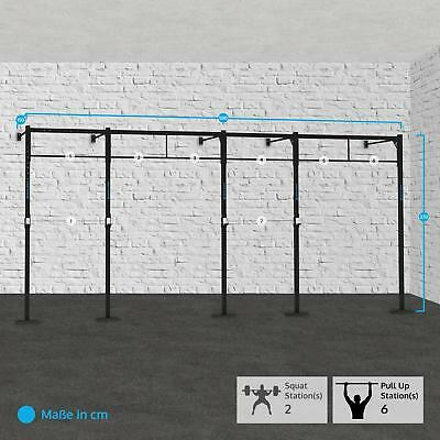 Capital Sports Fitness 580X150Cm Training Kraft Aufbau Squat Rack Klimmzugstange