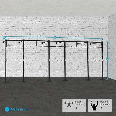 Capital Sports Fitness 694X150Cm Training Kraft Aufbau Squat Rack Klimmzugstange