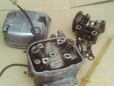Honda Lead 110 2009 Engine Cylinder Head And Cam