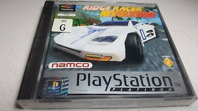 Ridge Racer Revolution - Sony PlayStation PS1 Game COMPLETE