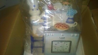 Pillsbury in Collectibles -- Time for Pie Clock