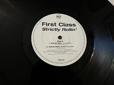 "First Class, Strictly Rollin, 12"" Ep, Promo"