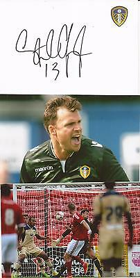 Leeds * Stuart Taylor Signed 6X4 Crested Whte Card+2 Free Unsigned Photos+Coa