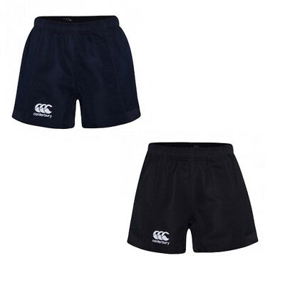 CANTERBURY JUNIOR ADVANTAGE RUGBY SHORTS / Boys Kids Black or Navy (120016)