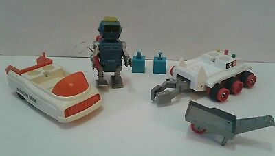 1960's 1970's Eldon Billy Blastoff Robbie Robot Battery Operated Japan Toy Lot