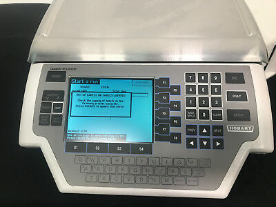 Hobart Quantum ML-29032-BJ Grocery Retail Deli Scale W/ Label Printer