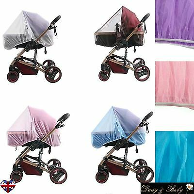 Cat Mosquito net pushchair cot Moses basket Pram carseat safety stroller buggy W