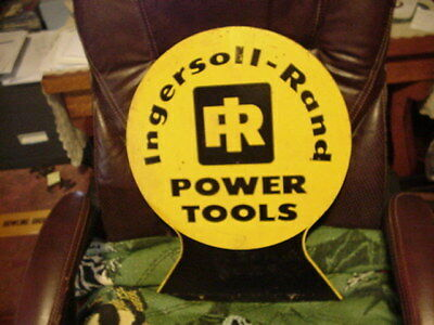 "Double Sided Ingersoll Rand Power Tools Sign - 19.5"" x 15"""