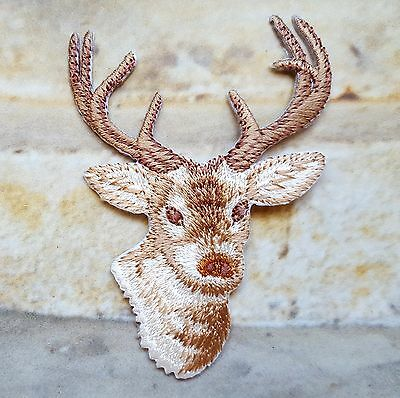 Ecusson Iron-on embroidered Patch Deer