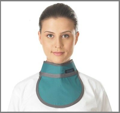 Thyroid Shield 0.35mmPb in Navy Blue